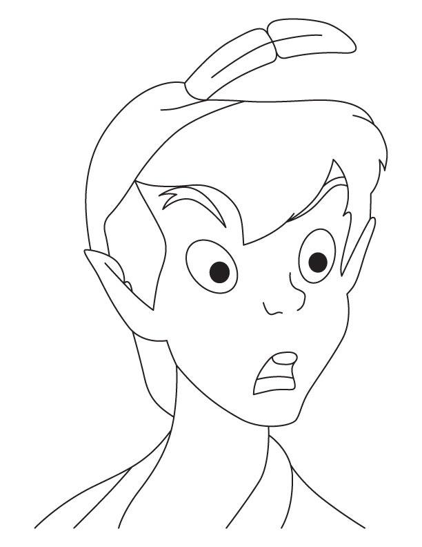 Peterpan coloring pages 6