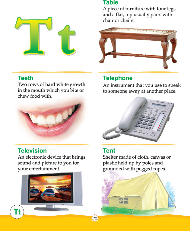 graphic about Printable Dictionary Pages known as Printable imagine dictionary alphabet t Obtain Totally free