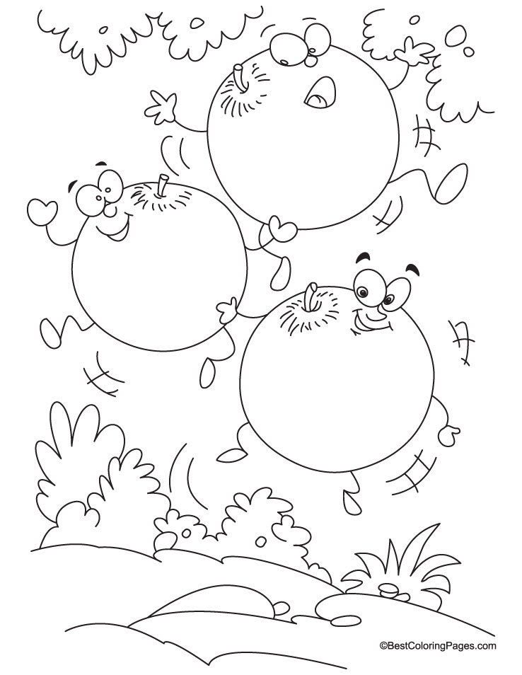 Plum Coloring Page: Each Peach Pear Plum Worksheets At Alzheimers-prions.com