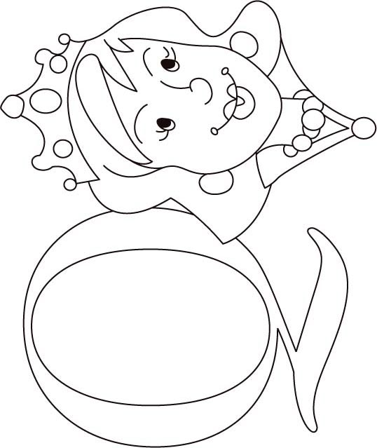 Q Is For Queen Coloring Page Q Is For Queen Colorin...