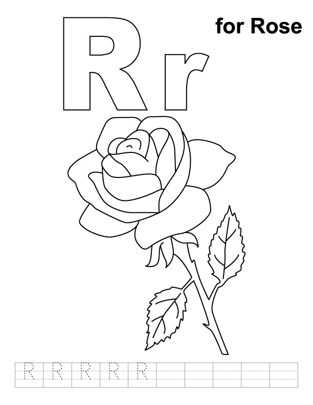 Rose bouquet coloring page | Rose coloring pages, Roses drawing ... | 792x612