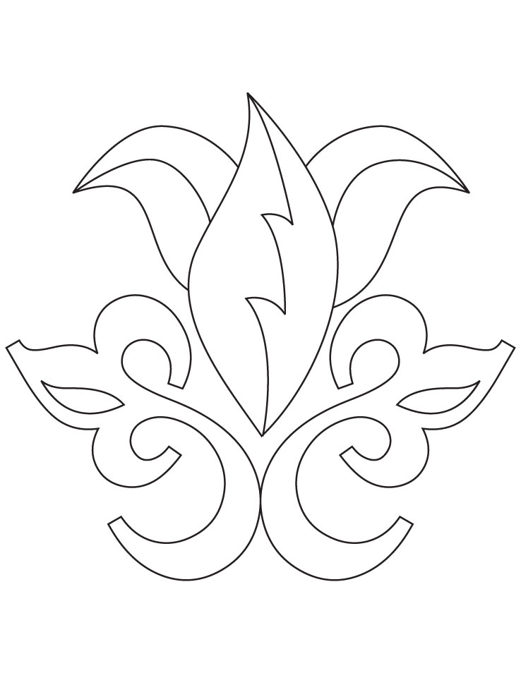 78 rangoli coloring pages rangoli coloring page for Rangoli coloring pages