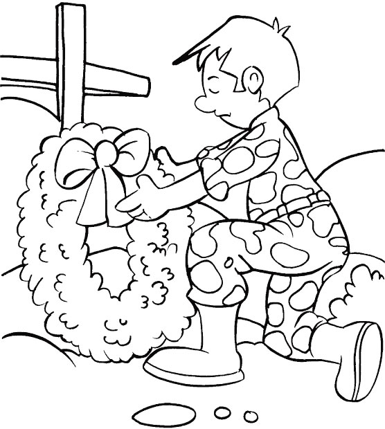 Coloring Pages For Remembrance Day : You are always in my memory hard to be forgotten