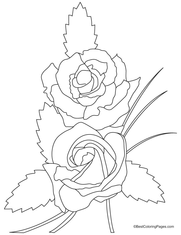 Free Coloring Pages Of Angel Rose