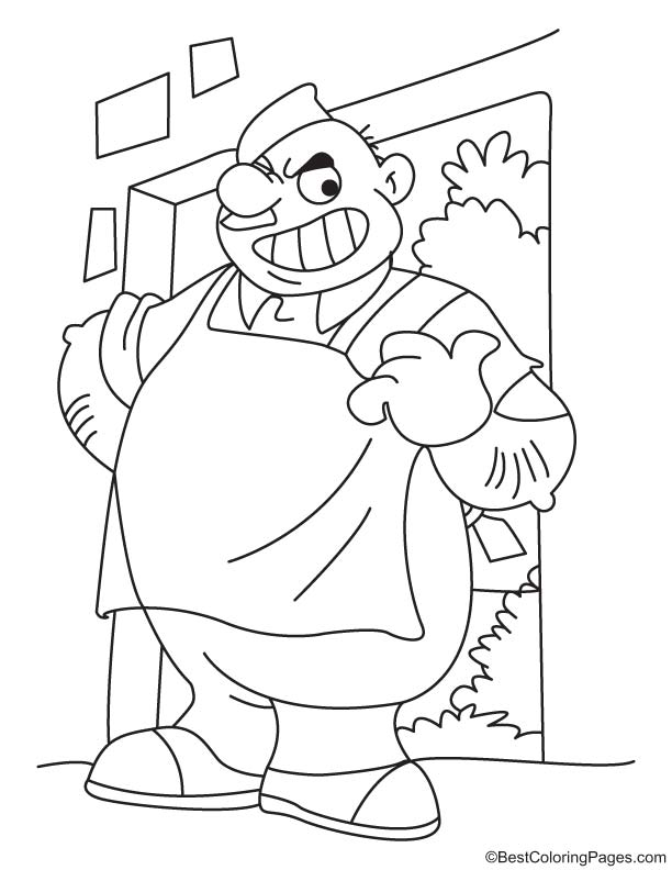 servant coloring pages - photo#4