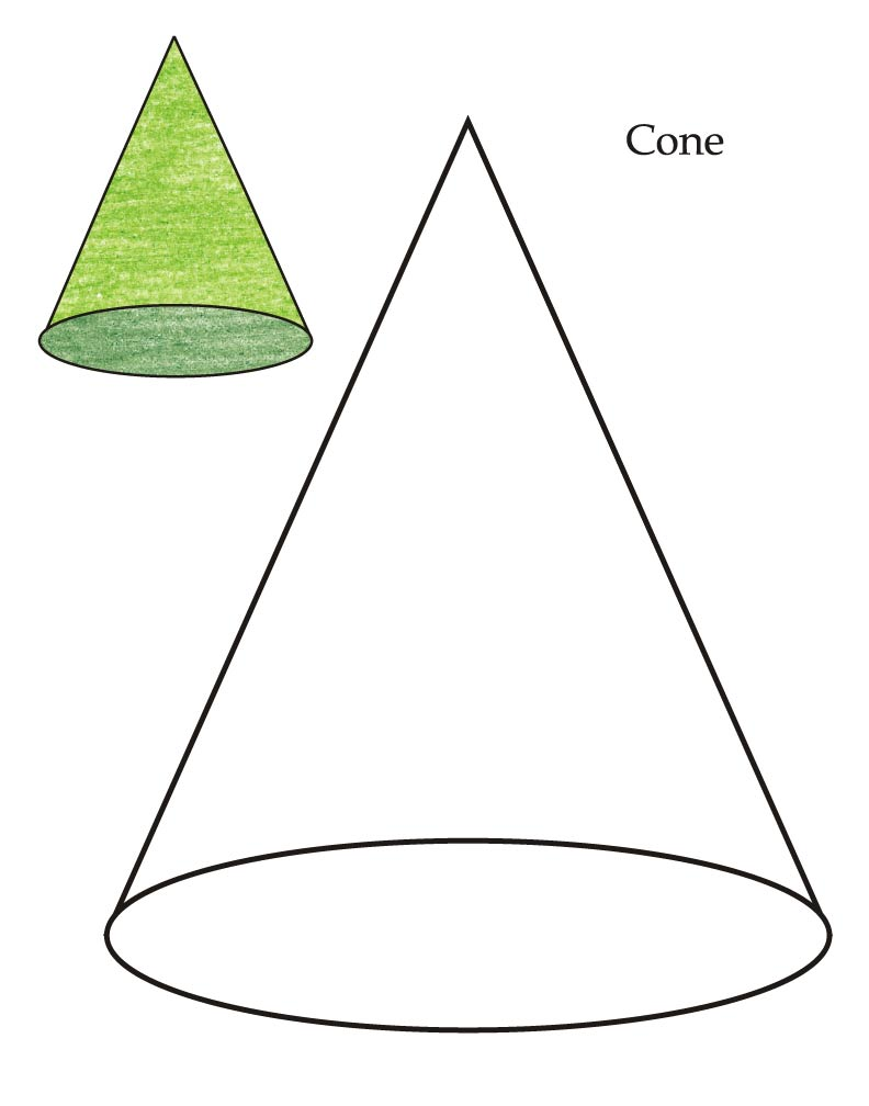 0 level cone coloring page download free 0 level cone coloring