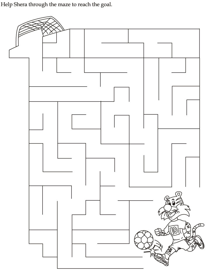 Commonwealth Games Mazes Worksheet