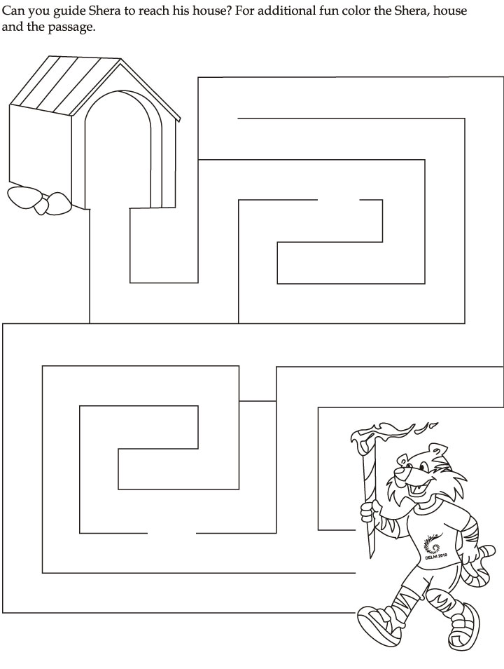 Mazes For Kindergarten Worksheets Versaldobip – Maze Worksheets for Kindergarten