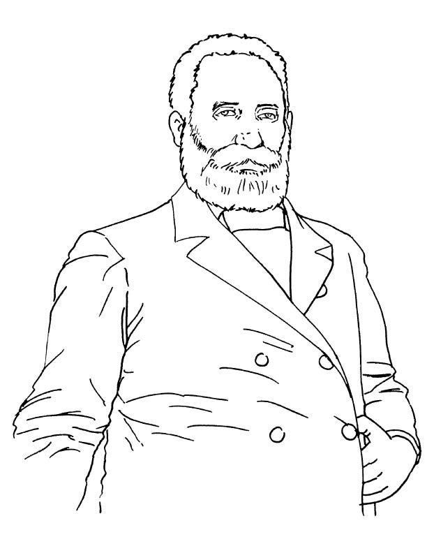 Sir mackenzie bowell coloring page