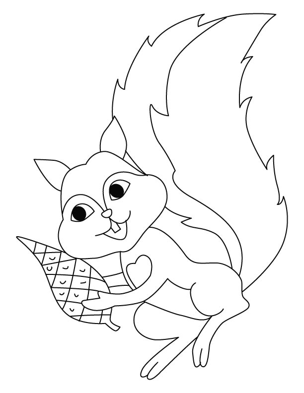Flying squirrel coloring pages | Download Free Flying squirrel ...