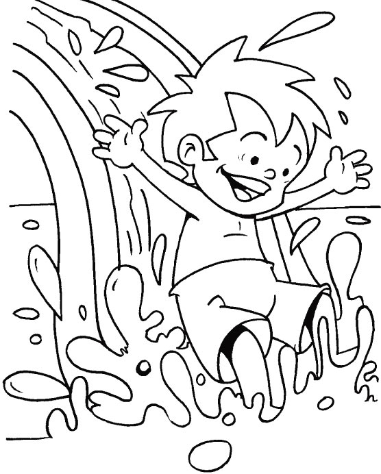 Coloring Pages About Water Coloring Pages