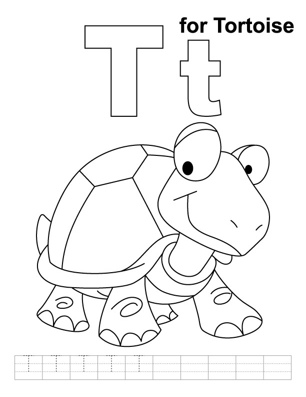 t i coloring pages - photo #37