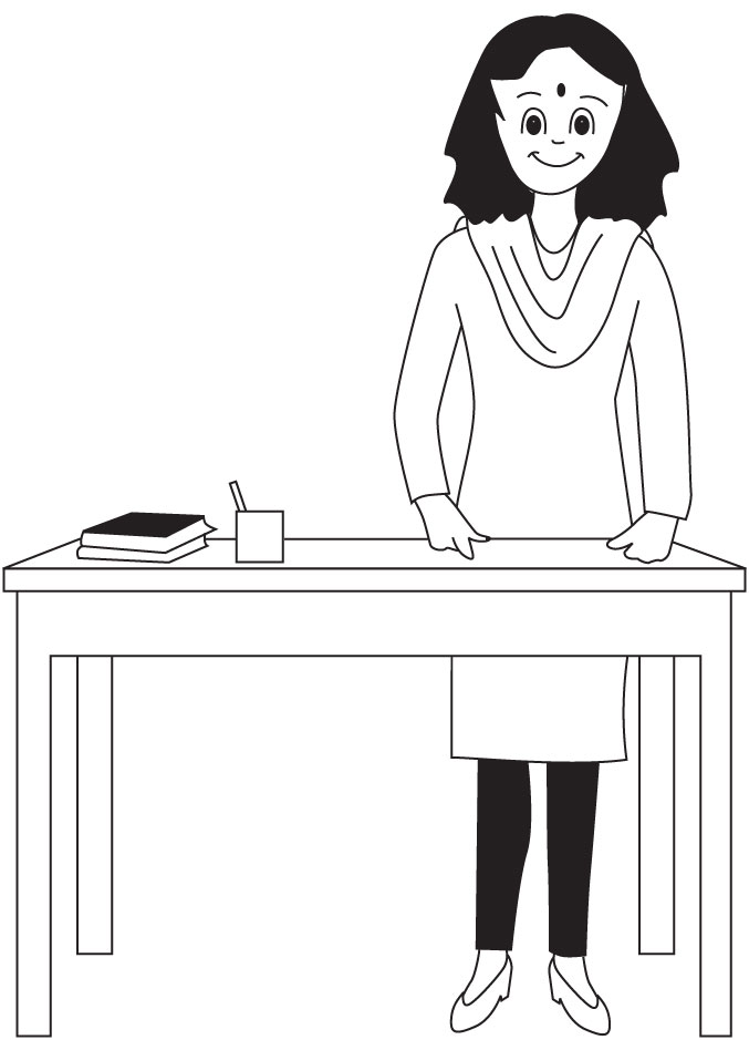 Teacher coloring page download free teacher coloring for Coloring pages of teachers