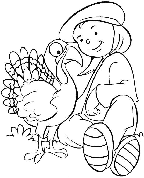 Thank you for the birds that sing sweet coloring page