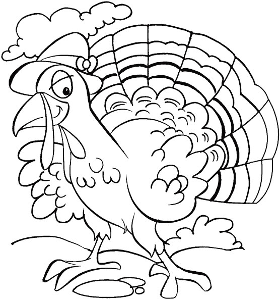 thanksgiving is so called because we all are thankful coloring page