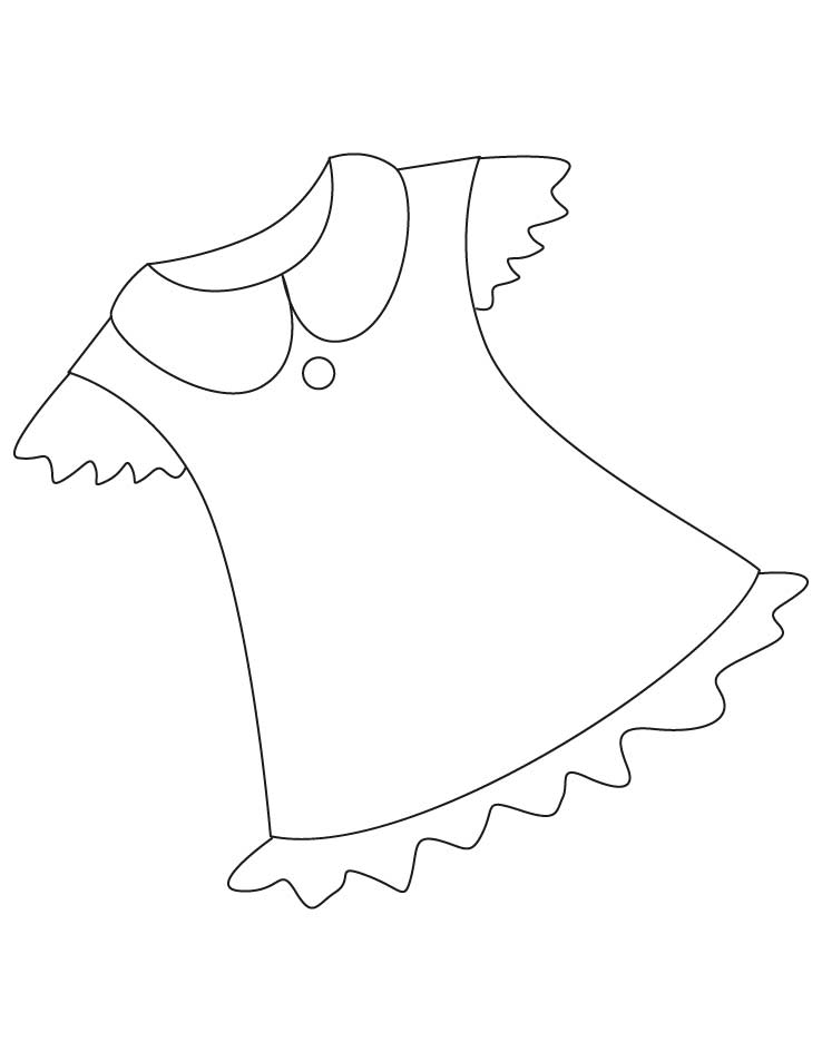 tunic coloring pages 1