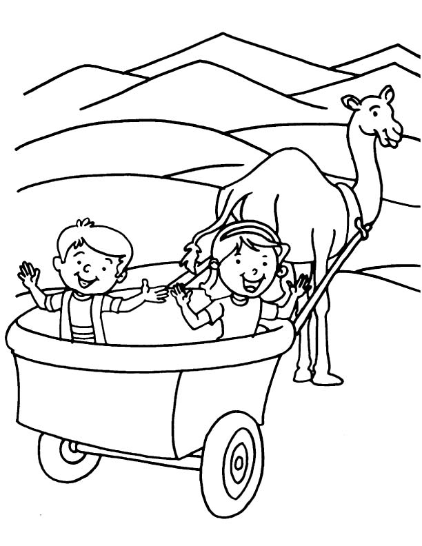 Printable preschool worksheet wagon printable best free for Wagon coloring pages
