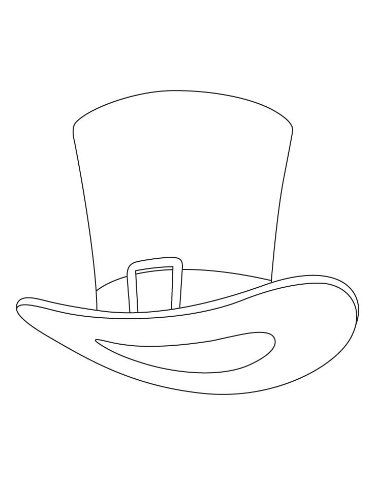Uncle Sam Hat Coloring Pages Download Free Uncle Sam Hat Hat To Color