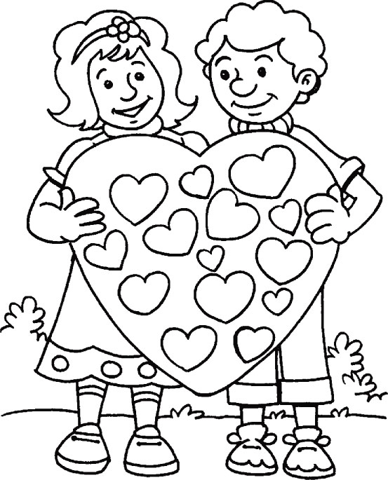 I want to spend my time by your side coloring page