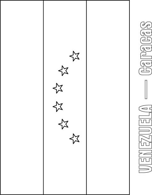 Venezuela Flag Coloring Page Download Free Venezuela Flag Coloring