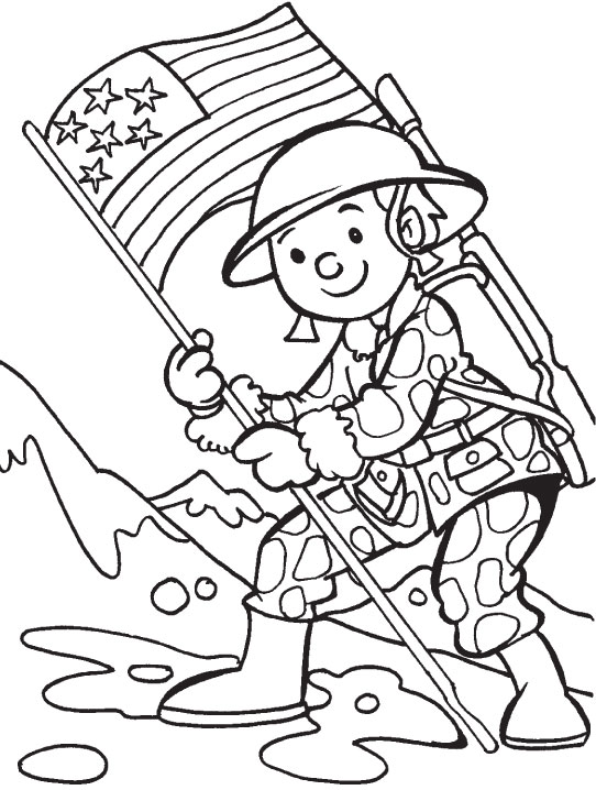 to honor you on veterans day coloring page