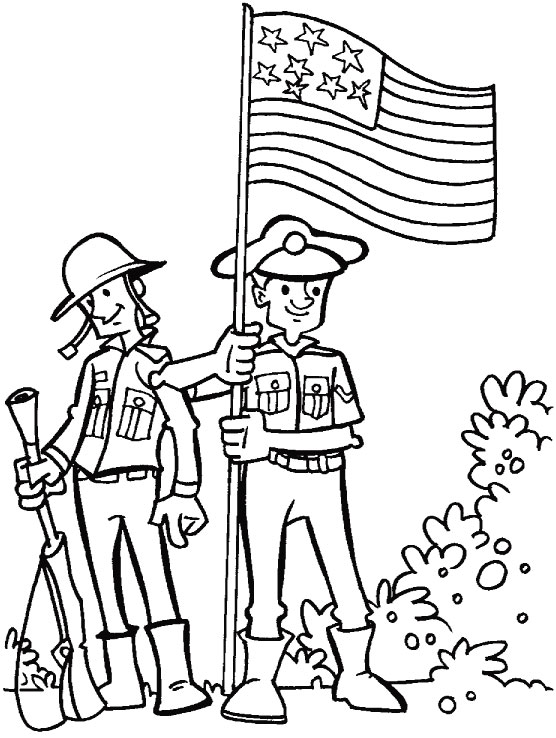 for courage dedication and loyalty coloring page