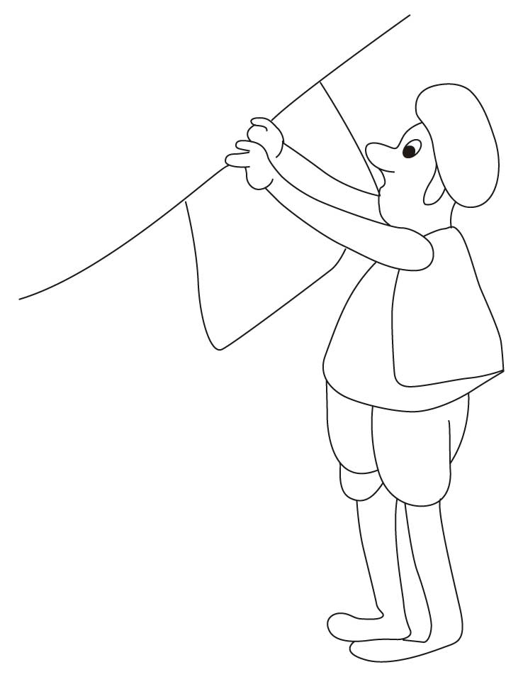 Villager dress coloring pages