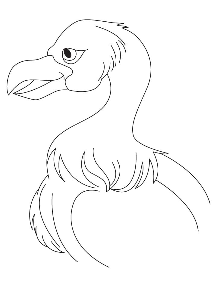 Jatayu vulture coloring pages