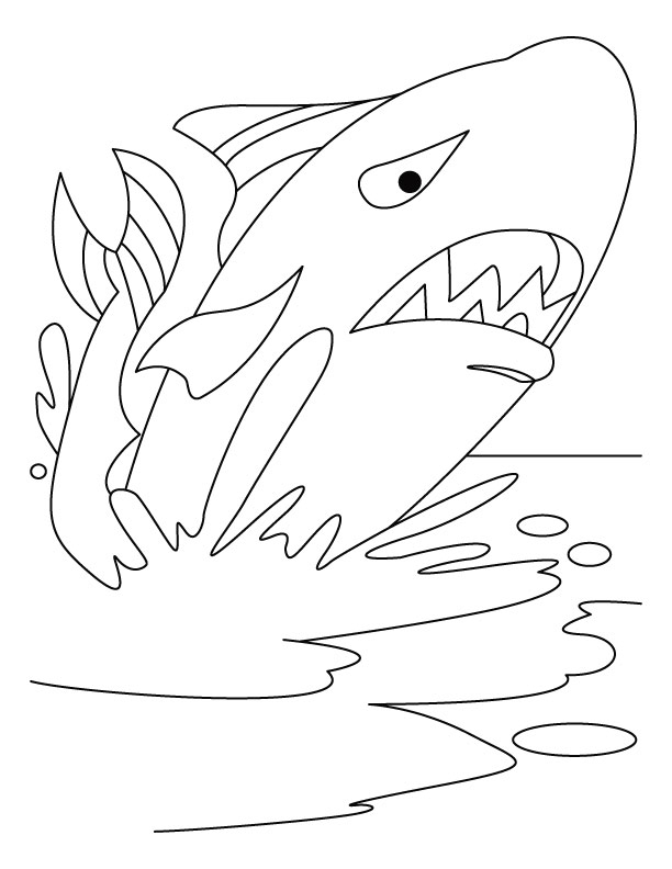 Giant whale on jive style coloring pages