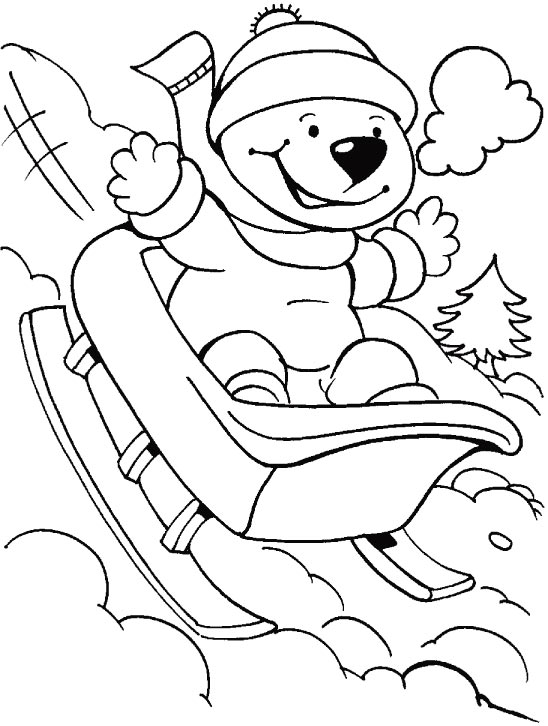 Worksheet. There is no need to labor on slopes it is automatic coloring page
