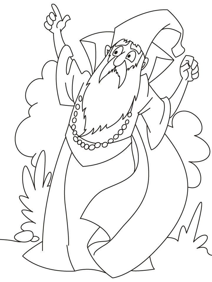 printable coloring pages wisards - photo#42