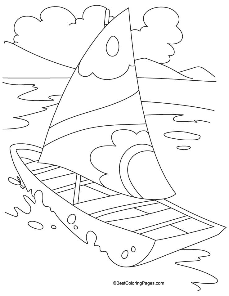sea transport coloring pages - photo#48