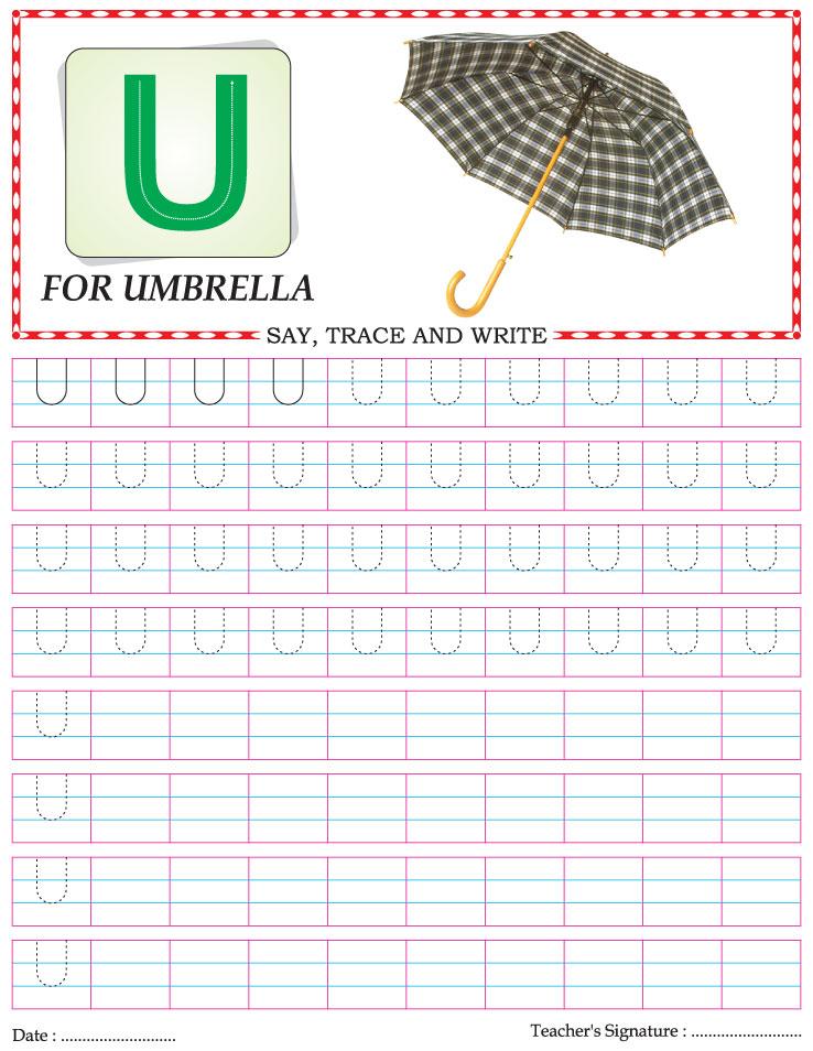 letter m worksheets kindergarten