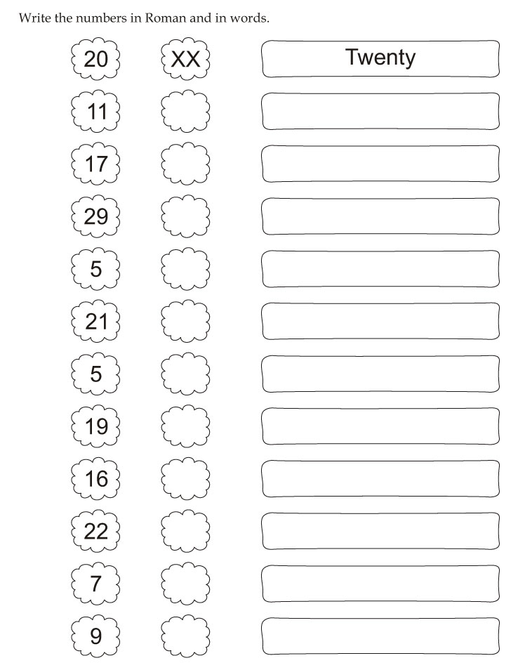 Write Numbers In Words Worksheet Free Worksheets Library – Number Words Worksheet