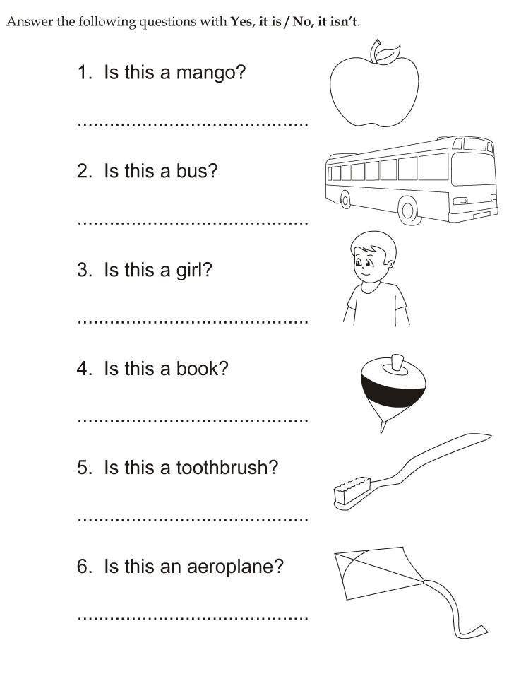 Download english activity worksheet Answer the following ...