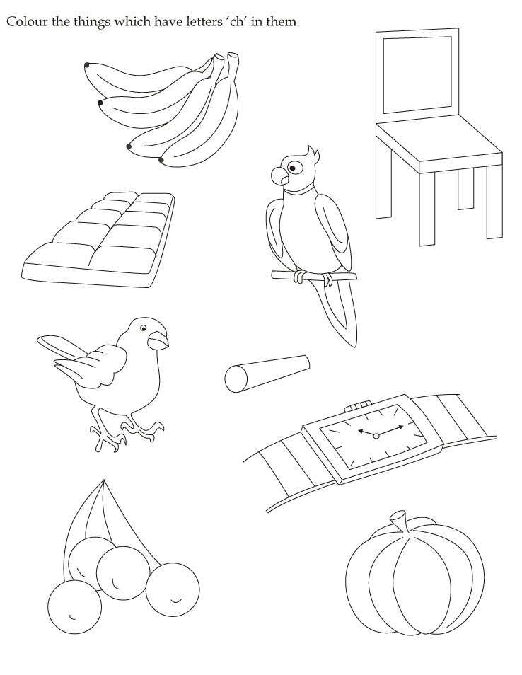 ch coloring pages - photo#22