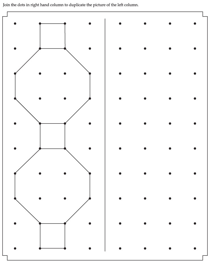 Join the dots and make the picture