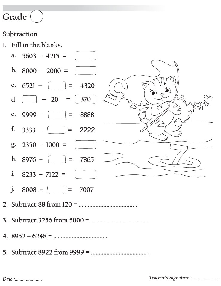 free coloring pages of place value