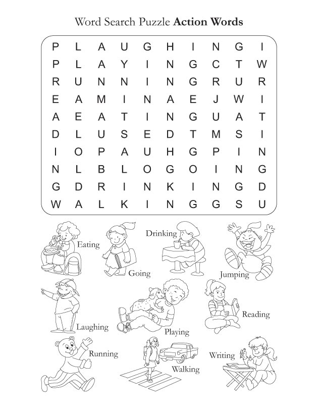 Word Search Puzzle Actions : Download Free Word Search ...