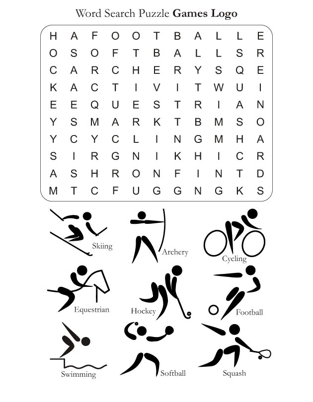 Word Search Puzzle Games Logo