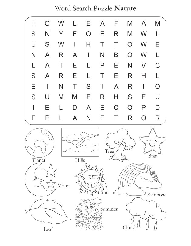 word search puzzle nature download free word search puzzle nature for kids best coloring pages. Black Bedroom Furniture Sets. Home Design Ideas