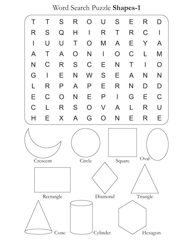 word search puzzle shapes 1 download free word search puzzle shapes 1 for kids best coloring. Black Bedroom Furniture Sets. Home Design Ideas