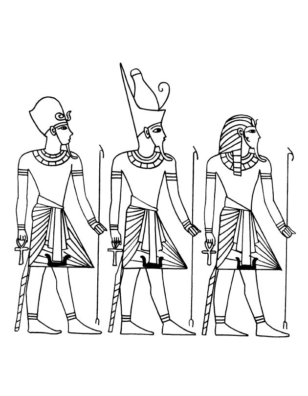 ancient egyptian coloring pages - photo#14