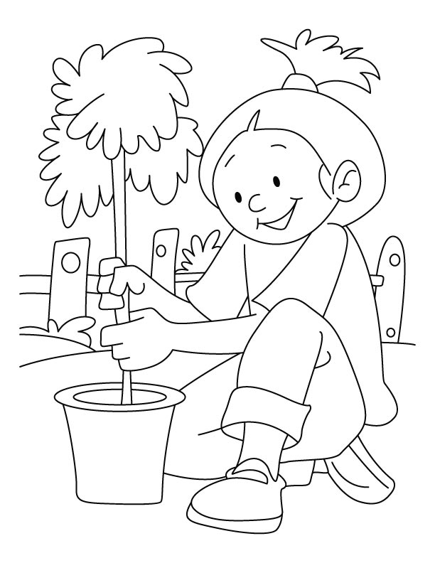 Coloring Pages On Save Earth Coloring Pages