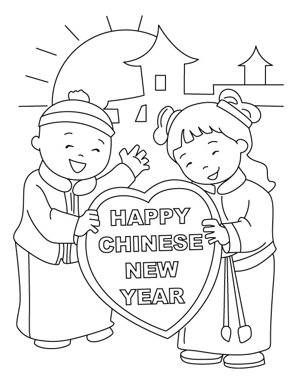free printable chinese new year coloring pages - free printable chinese new year coloring sheets
