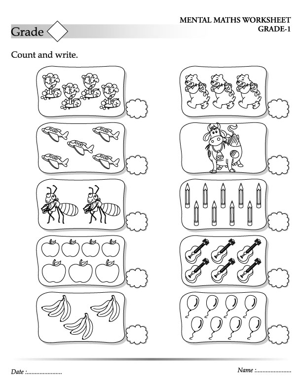 Printable Worksheets worksheets counting to 20 : Count and write | Download Free Count and write for kids | Best ...