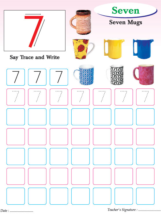 Number Names Worksheets number practice writing : Number Writing Practice Worksheets Free - Intrepidpath